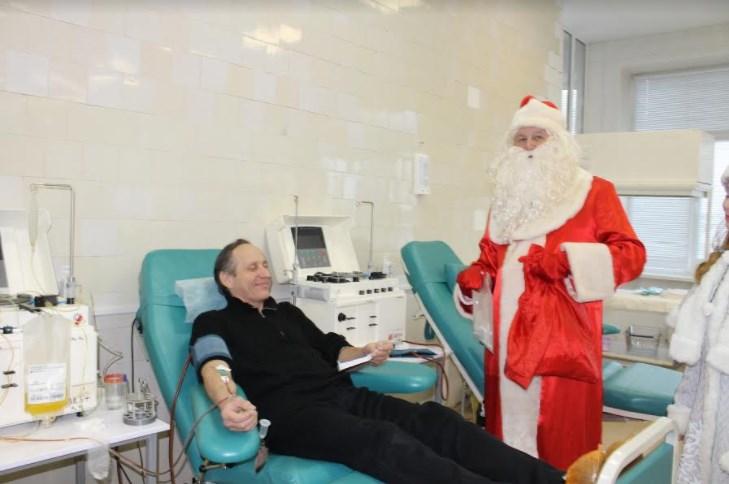 Вновогодние праздники петербургские доноры сдали 188 литров крови