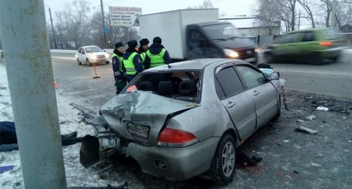 ВЧелябинске 4 человека погибли вДТП