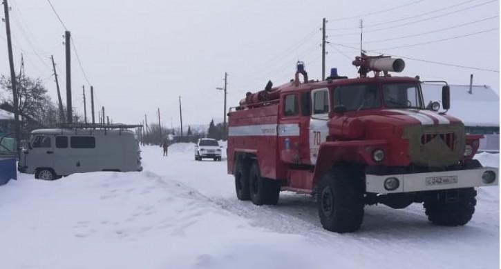 Трое детей погибли на пожаре в Челябинской области ... Трое Детей