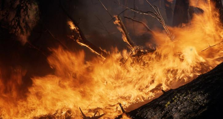 Под руинами сгоревшего дома в Магнитогорске нашли мужской труп