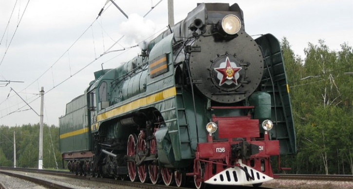 «Поезд Победы» на паровой тяге приедет в Челябинск 7 мая