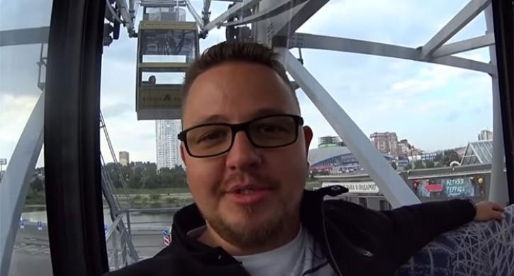 Блогер изИрландии побывал вЧелябинске иЮжноуральске