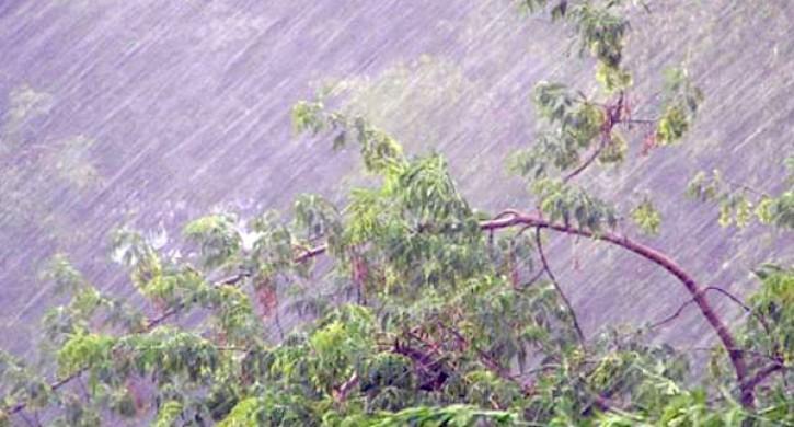 Дождь, гроза иград обрушатся на столицу Российской Федерации всубботу