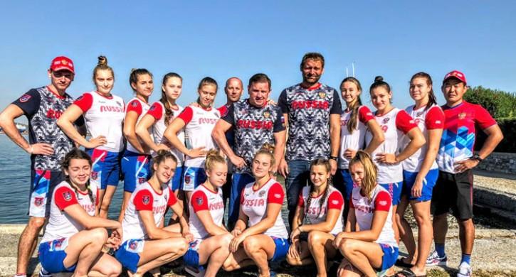 Женская ватерпольная сборная России вышла в четвертьфинал юниорского первенства Европы