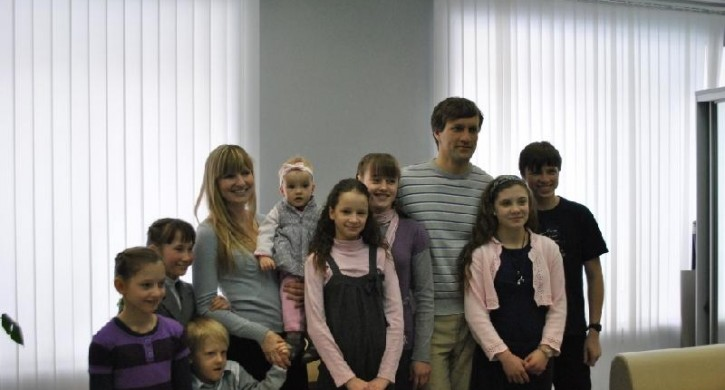 Магнитогорскую семью признали лучшей в России