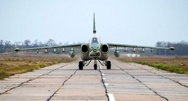 Су-25 прибыли изКиргизии для участия вучениях наУрале
