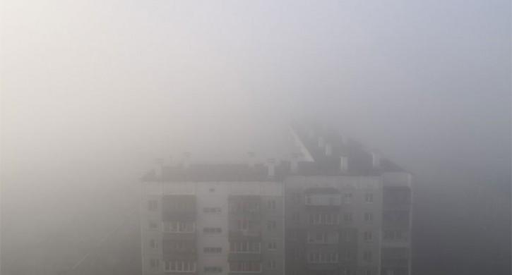 Челябинские предприятия снизили выбросы из-за тумана