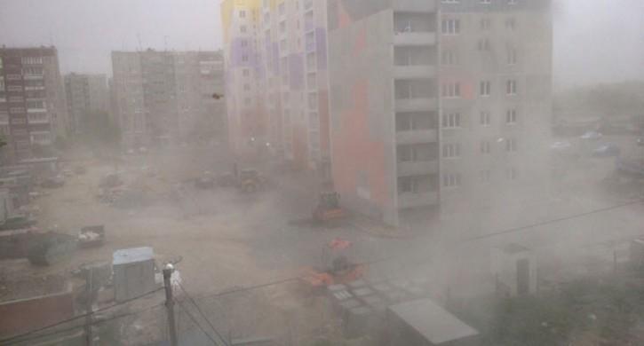ухудшение погоды на Южном Урале