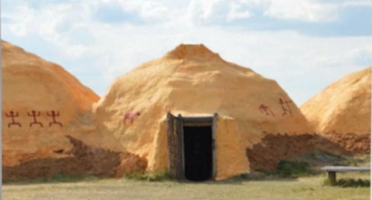 В заповеднике «Аркаим» восстановят поврежденные огнем строения