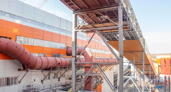 Новая агломерационная фабрика позволит ММК сократить выбросы пыли на 2,1 тыс. тонн в год