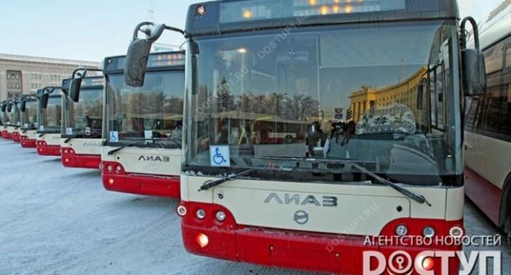 В Челябинске на покупку 65 низкопольных автобусов направят 700 млн