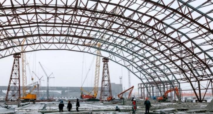 строительство аглофабрики в Магнитогорске
