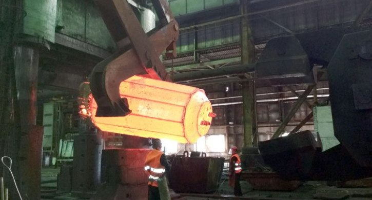 Создание 60-тонной поковки признано одним из главных событий российской металлургии в 2019