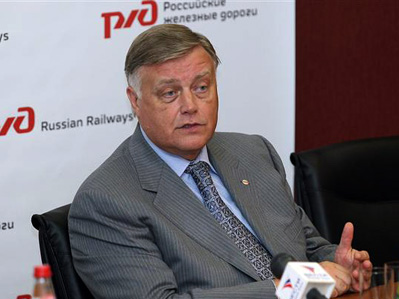 Пресс-служба правительства не подтверждает сообщение об отставке главы РЖД