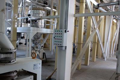 Современный крупяной завод построен в Челябинской области.