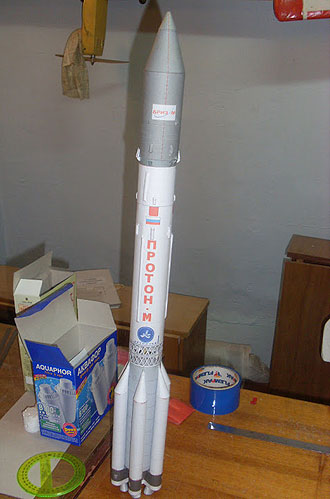 Ракета из пенопласта своими руками 91