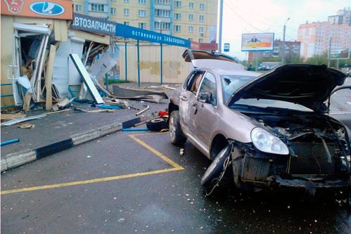 авария porsche cayenne в челябинске