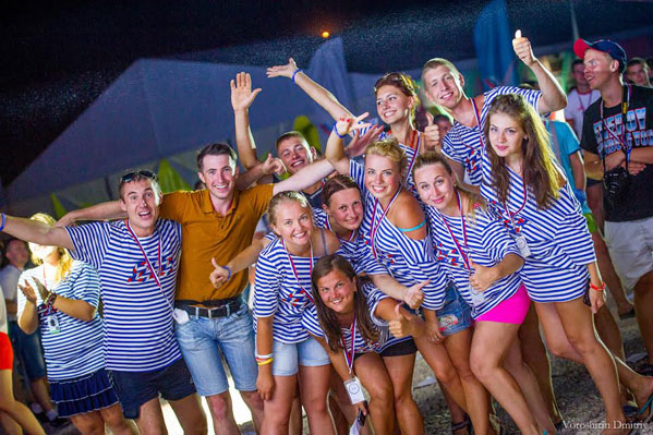 Молодёжь новой России фото