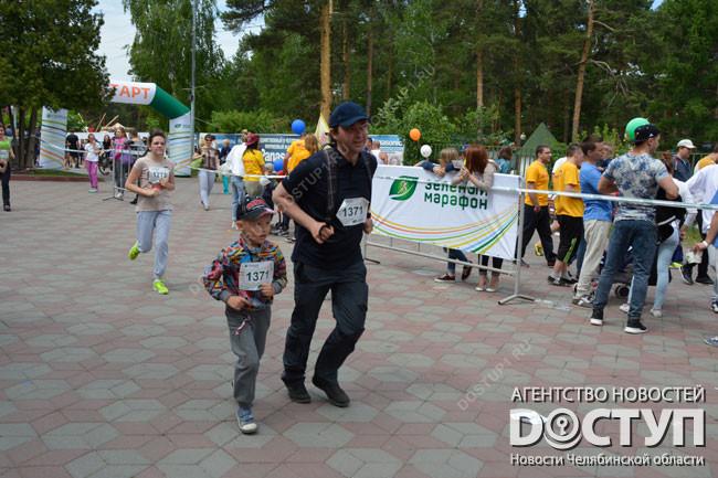 В «Зеленом марафоне— 2016» примут участие неменее 100 тыс. человек