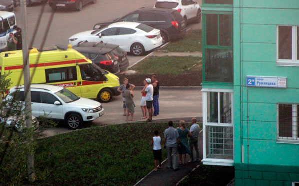 НаЧМЗ подростки подстрелили мужчину водворе жилого дома