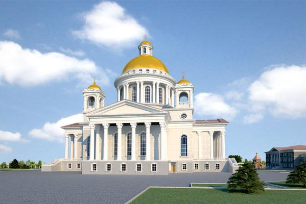 Долгожданное событие. Завтра стройплощадка будущего кафедрального храма навечер будет концертным залом