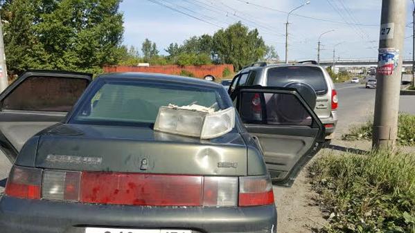 ВМиассе при столкновении авто пострадал первоклассник иего годовалая сестра