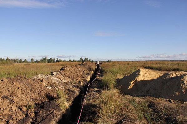 Граждане Вахрушево получают питьевую воду из новоиспеченной скважины