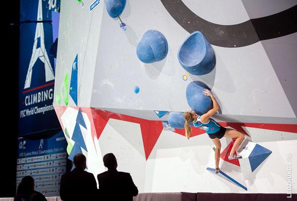 Анна Цыганова— чемпионка мира поскалолазанию