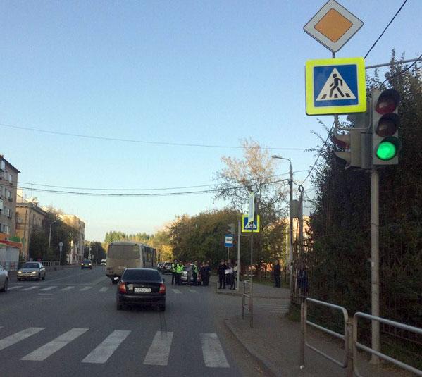 Ребенок-пешеход попал под колеса нетрезвого водителя