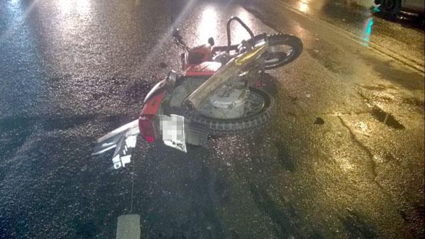 ВДТП смотоциклом пострадали трое