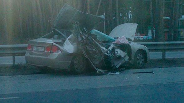 Малыш, фельдшер и шофёр погибли