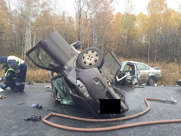 ВКрасноармейском районе вДТП погибли два человека