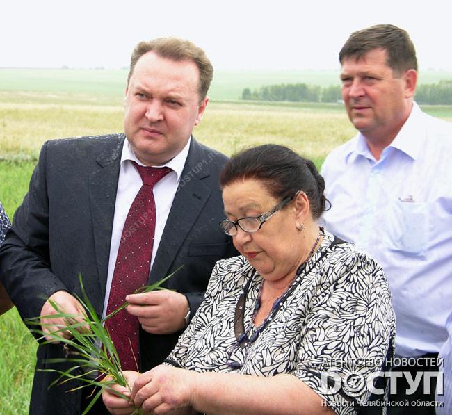 Южноуральского министра сельского хозяйства наградил Президент