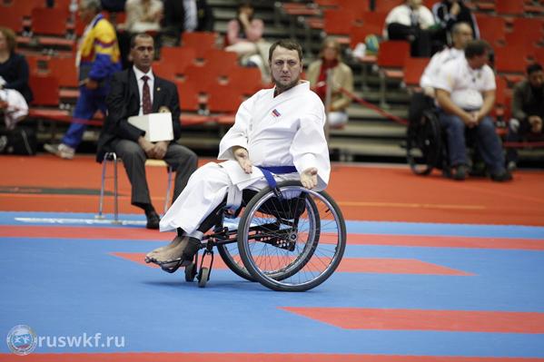 Инвалид-колясочник изЧелябинска завоевал бронзу начемпионате мира попара-каратэ