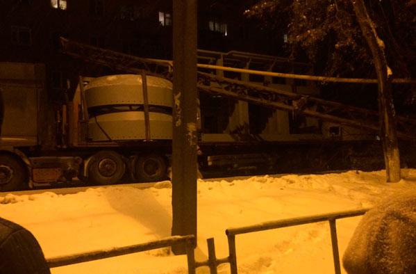 ВКыштыме из-за аварии надороге граждане остались без электричества