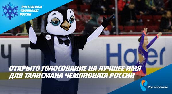 Южноуральцы выбирают имена для талисманов Чемпионата РФ пофигурному катанию