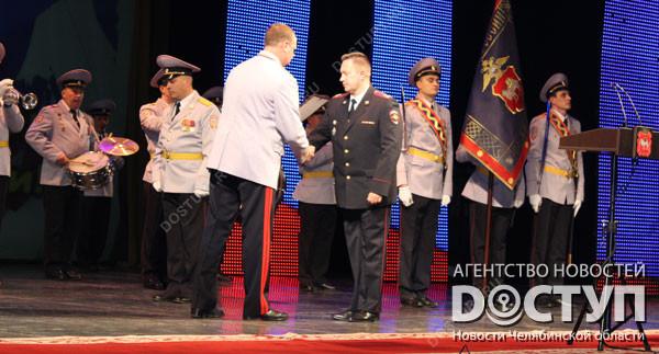 НаЮжном Урале спраздником поздравляют стражей порядка