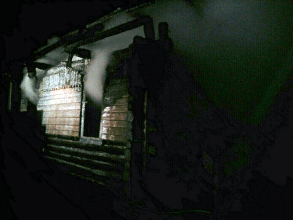 В личном доме сгорел 4-летний парень
