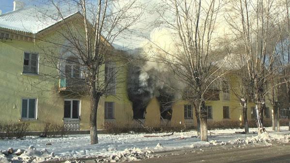 Два человека пострадали впожаре вжилом доме Южноуральска