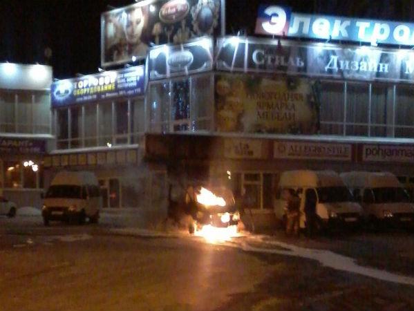 ВЧелябинской области сгорела «Газель», вкоторой спал шофёр