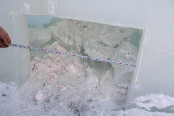 ВКоркино вандалы напали наледовый городок