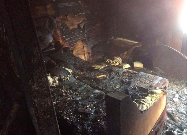 ВЕманжелинском районе пожарные спасли 2-х человек