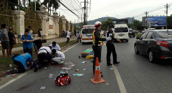 ВТаиланде вДТП умер русский турист