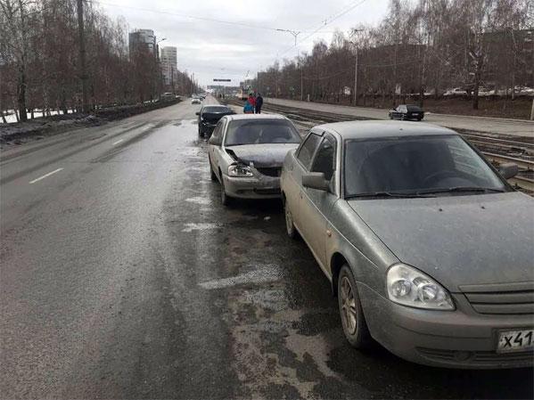 Младенец пострадал вДТП насеверо-западе Челябинска