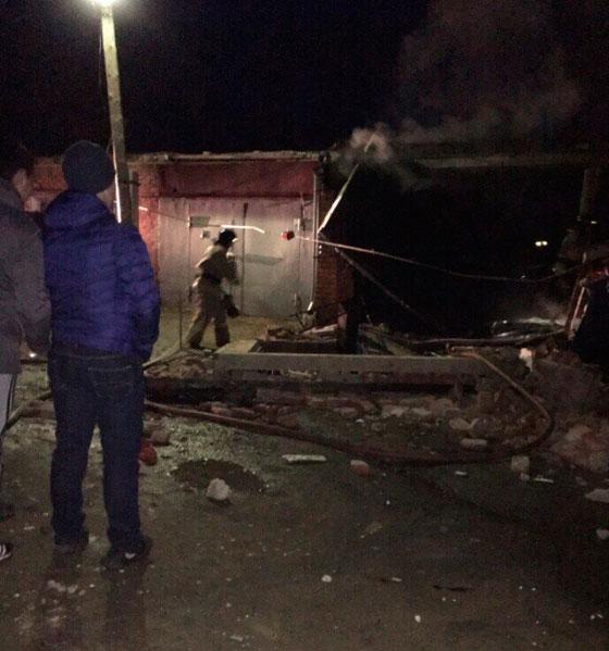 Взрыв вгараже: один человек умер, 2-ой тяжело ранен