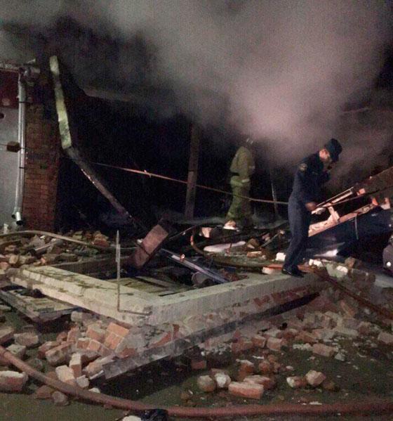 Из-за пожара один мужчина умер, 2-ой - вреанимации