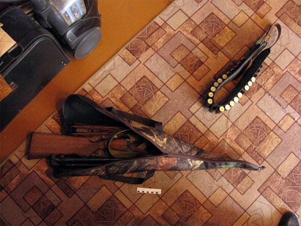 Нетрезвый южноуралец расстрелял витрину магазина изружья