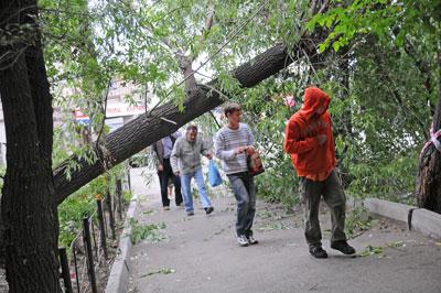 ВЧелябинской области продлили штормовое предупреждение— Опять непогода