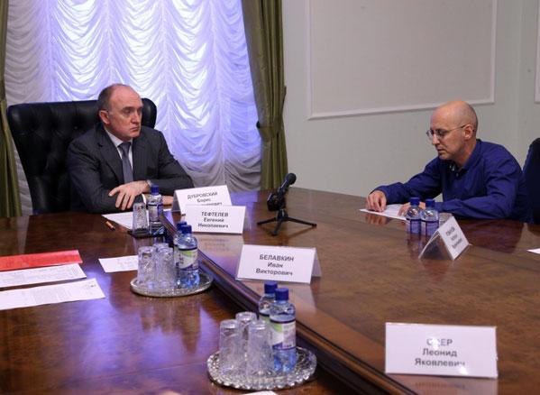 Дубровский пообещал выделить 1 млн руб.  молодежной хоккейной команде «Мечел»