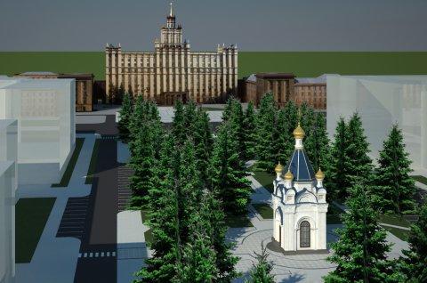 Епархия поведала, как будет выглядеть часовня напротив ЮУрГУ